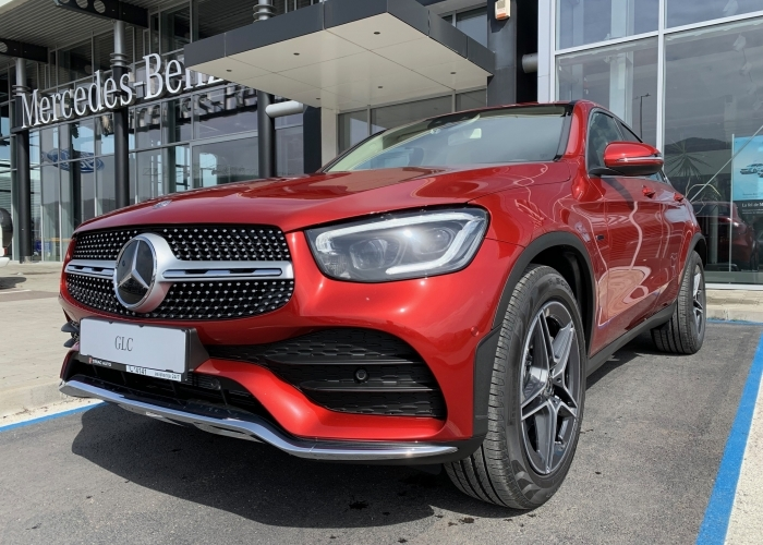 MERCEDES-BENZ GLC Coupe GLC 300 e 4MATIC Coupe  : Mercedes-Benz GLC