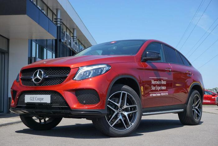 GLE 350 d 4MATIC Coupe -BH 9079 : Mercedes-Benz GLE
