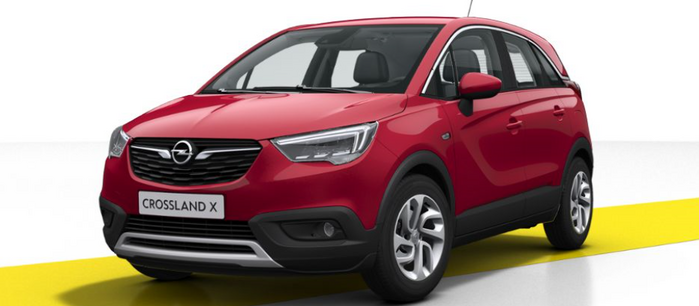 CROSSLAND X Innovation 1.2 - BM 11158, 11159 : Opel Crossland X