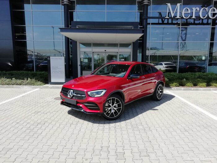 MERCEDES-BENZ GLC 300 4MATIC Coupe : Mercedes-Benz GLC
