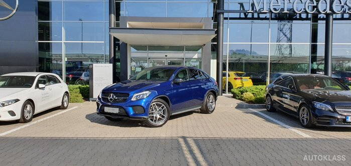 MERCEDES-BENZ GLE 350 d 4MATIC Coupe : Mercedes-Benz GLE