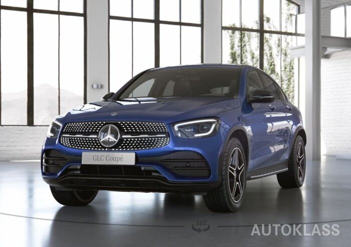MERCEDES-BENZ GLC 300 d 4MATIC Coupe : Mercedes-Benz GLC