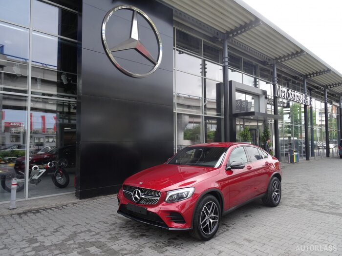 MERCEDES-BENZ GLC 250 4MATIC Coupe : Mercedes-Benz GLC