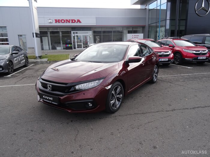 HONDA CIVIC 4D 1.5 VTEC Turbo AT Elegance : Honda CIVIC 4D