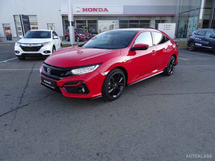 HONDA CIVIC 5D 1.5 VTEC Turbo AT Sport Plus : Honda Civic 5D