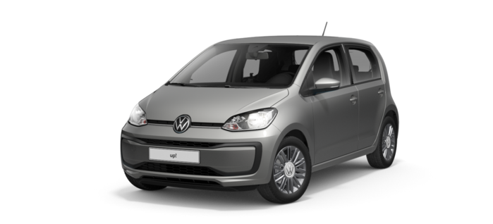 Noul up! Move up! 4 usi / 60 CP/44 kW / 1.0l / Manuala, 5 trepte / 4-usi : Volkswagen up