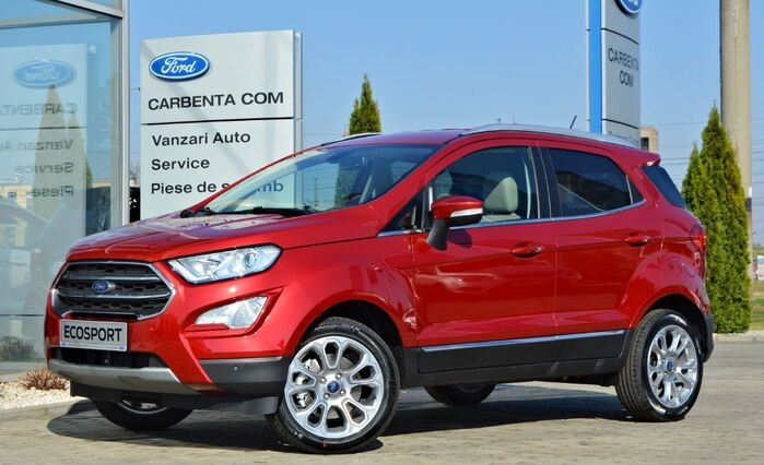 Ford Ecosport Titanium / Lucid Red / 1.0 Ecoboost 125CP : Ford Ecosport