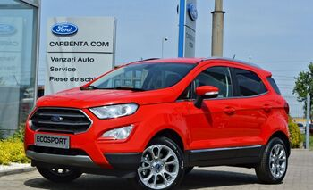 Ford Ecosport Titanium / Race Red / 1.0 Ecoboost 125CP : Ford Ecosport