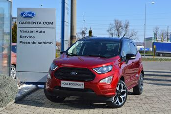 Ford Ecosport ST-Line / Lucid Red / 1.0 Ecoboost 125CP : Ford Ecosport