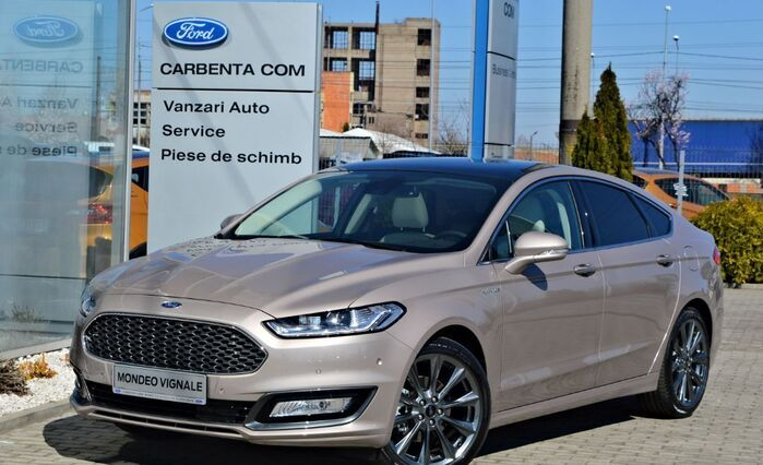 Ford Mondeo Vignale - Black Appearance : Ford Mondeo