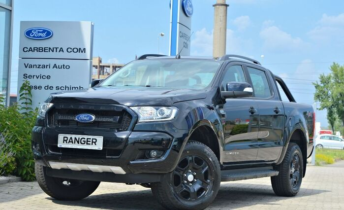Ford Ranger Limited - Black Edition : Ford Ranger