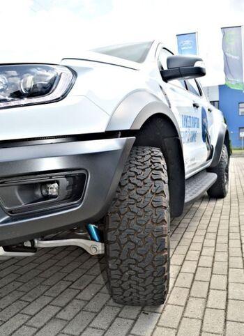 Ford Ranger Raptor - Frozen White : Ford Ranger