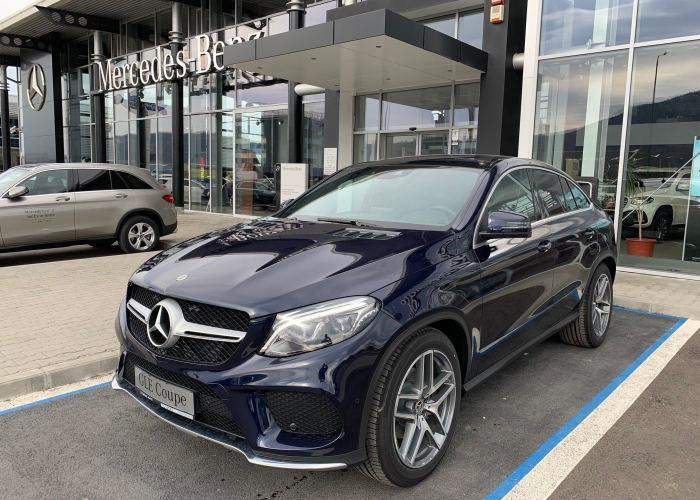 MERCEDES-BENZ GLE GLE 350 d 4MATIC Coupé  : Mercedes-Benz GLE