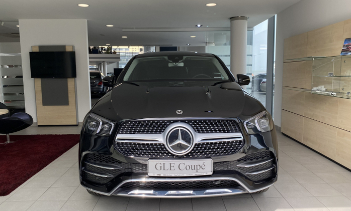 MERCEDES-BENZ GLE Coupe : Mercedes-Benz GLE