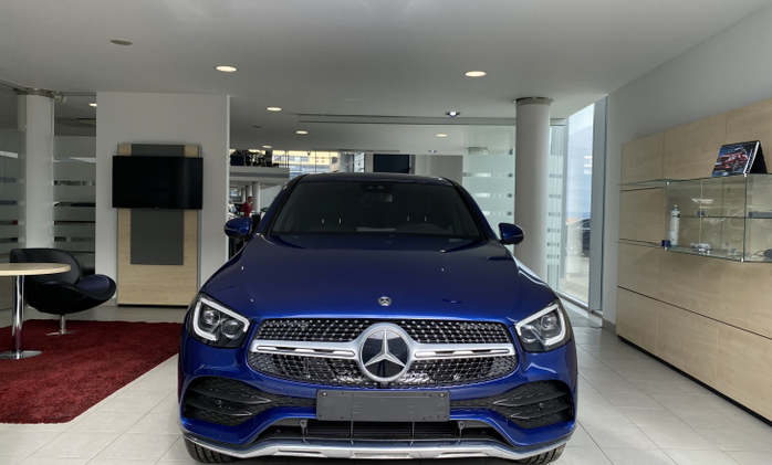 MERCEDES-BENZ GLC Coupe : Mercedes-Benz GLC