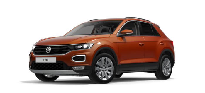 T-Roc Design 2.0 TDI 4Mot DSG / 150 CP/110 kW / 2.0l / Direct Shift Gearbox / 4-usi : Volkswagen T-Roc