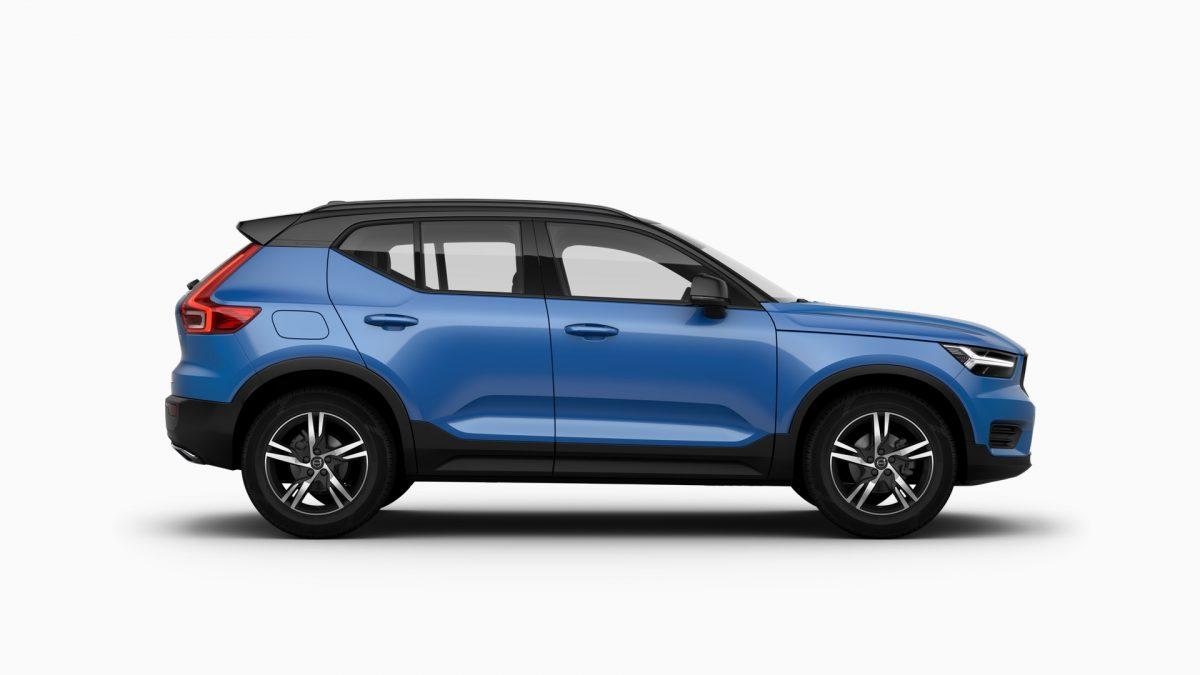 XC40 R-Design D3 AT8 AWD, Bursting Blue, 10995 : Volvo XC40 R-Design