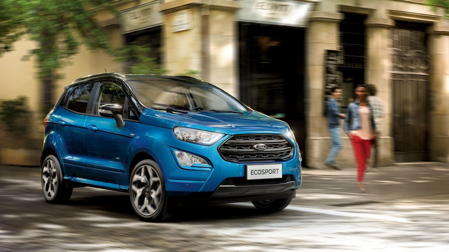 Ford Ecosport Titanium - 1.0 Ecoboost 125CP - Blue Lightning : Ford Ecosport