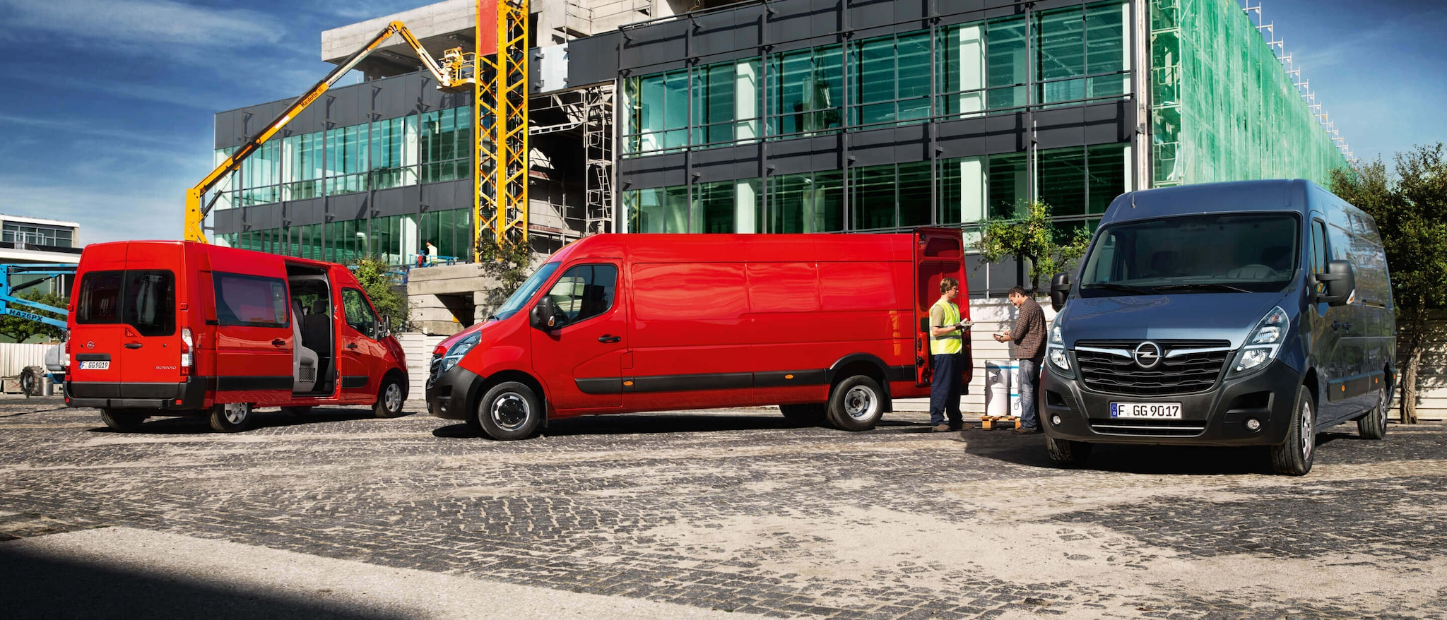 OPEL Movano Standard Double chassis cab 2.3 MT6 L3H1 3500 Crew FWD – SRW Diesel : Opel Movano Standard