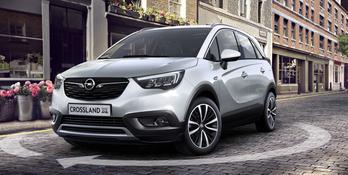 OPEL Crossland X Enjoy Crossover 1.2 Benzina : Opel Crossland X Enjoy